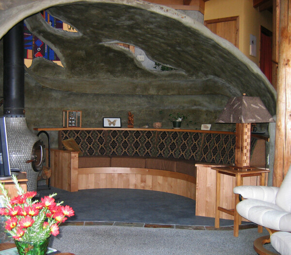 Banquette for a Cave