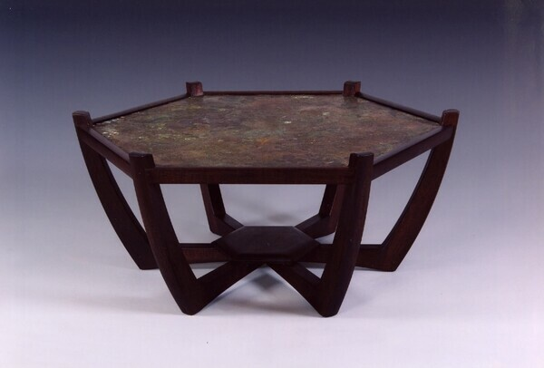 Copper Top occasional table